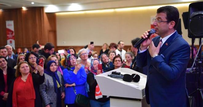 Ekrem İmamoğlu, Ataşehir'de Kadınlarla Buluştu