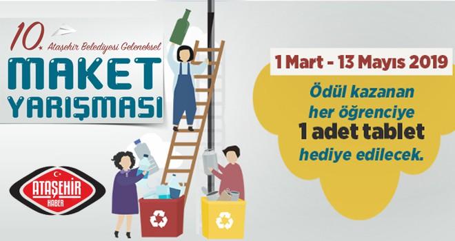 Ataşehir'de Geleneksel Maket Yarışması Başlıyor