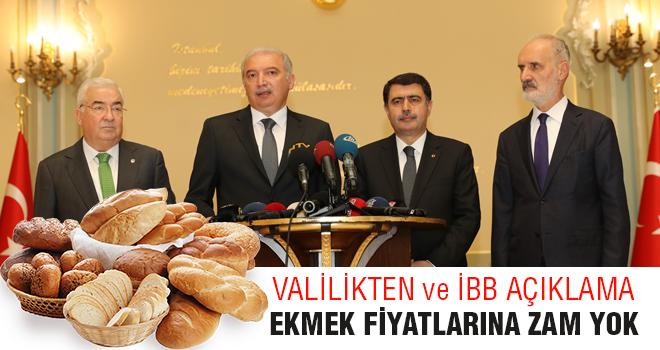 Valilik ve İBB'den Ekmeğe Yönelik Önemli Açıklama: Zam Yok!
