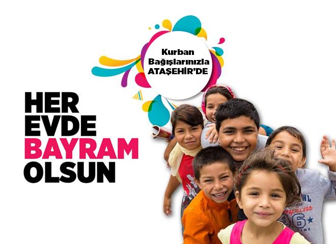 Ataşehir Belediyesi Aşevi, Kurban Bağışlarınızı Bekliyor