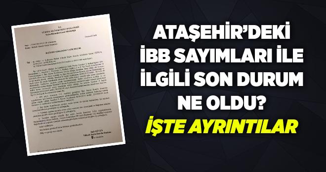 Ataşehir'de YSK'da son durum ne oldu? İşte ayrıntılar
