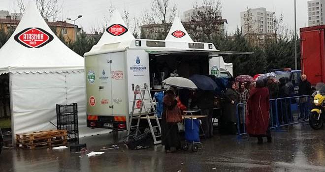 Ataşehir'de vatandaşın talebi üzerine tanzim noktası değiştirildi