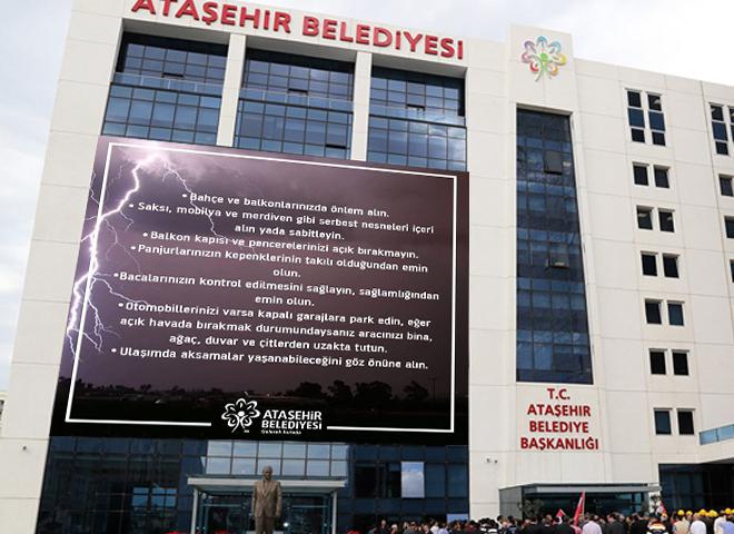 Ataşehir Belediyesi Vatandaşları Uyarıyor!
