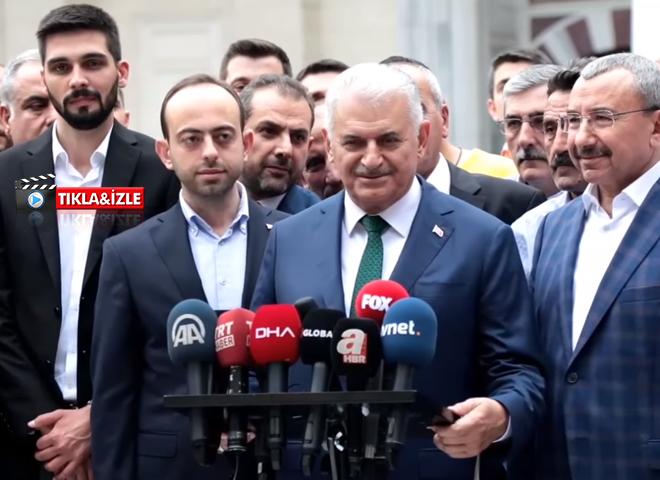 AK Parti İBB Adayı Yıldırım, Bayram Namazını Ataşehir'de Kıldı