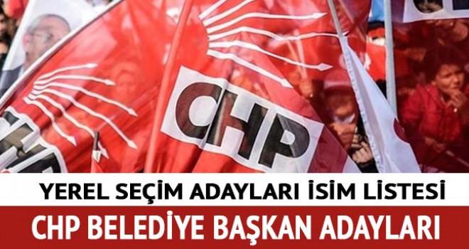 CHP, 105 Belediye Başkan Adayını Açıkladı! İşte açıklanan ilçeler ve adaylar...