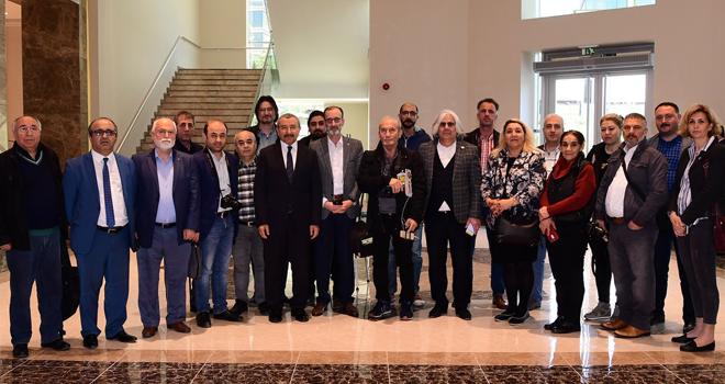 İsmail Erdem, Sancaktepe'de Yerel Basın ile Buluştu