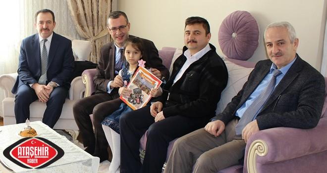 Kaymakam Ertaş, Şehit ve Gazi Ailelerini Ziyaret etmeye devam ediyor