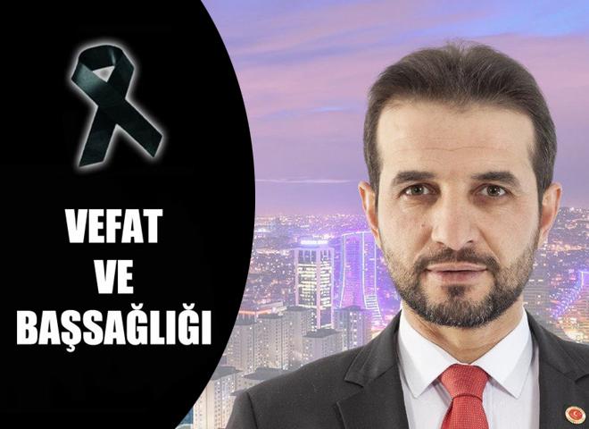 Saadet Partisi Ataşehir İlçe Başkanı Adem Boz'un acı kaybı