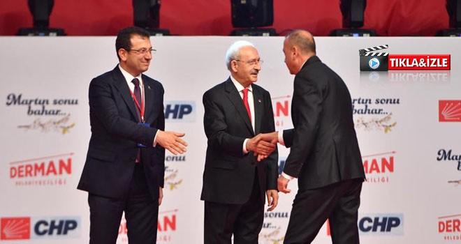 Kılıçdaroğlu ve İmamoğlu, İlgezdi'yi Alkışlarla Karşıladı