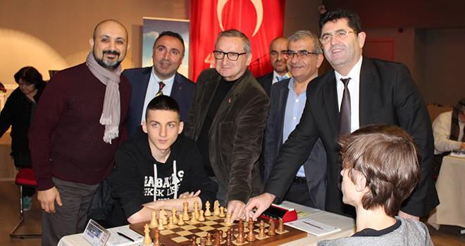 Satranç Turnuvası İstanbul İl Birinciliği için Ataşehir'de Hamle Yapıyorlar