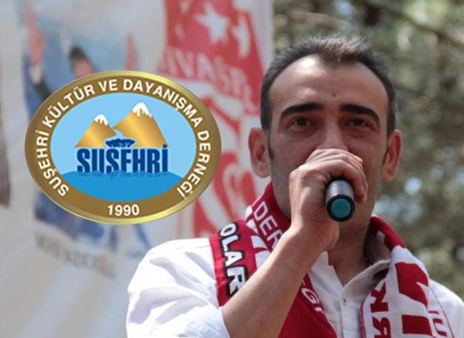 Suşehri Kültür ve Dayanışma Derneği Başkanı Sedat Güven'den Kurban Bayramı Mesajı