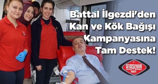 Battal İlgezdi'den Kan ve Kök Bağışı Kampanyasına Tam Destek!