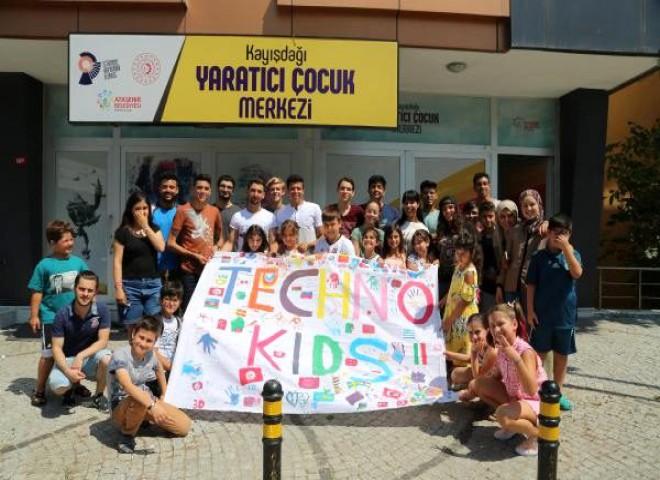 Ataşehirli çocuklar AIESEC ile yaratıcılıklarını geliştiriyor