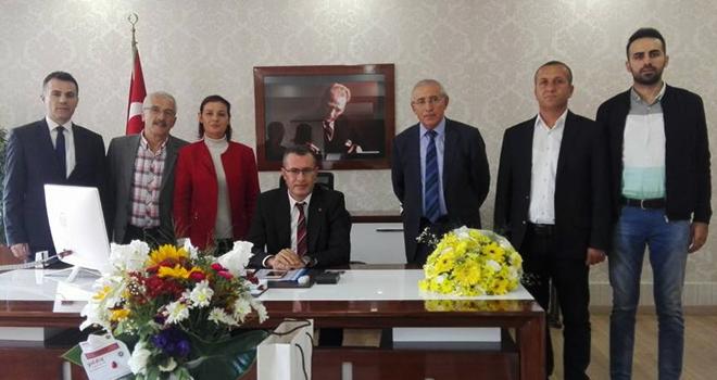 CHP Ataşehir'den Kaymakam İsmail Hakkı Ertaş'a Anlamlı Ziyaret