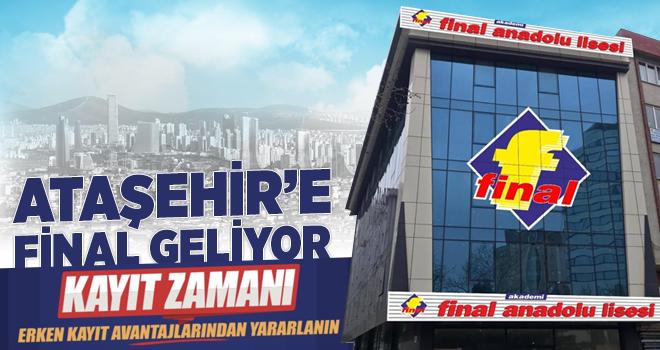 Ataşehir'e Final Anadolu Lisesi Geliyor