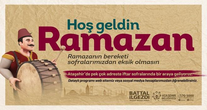 Ataşehir Ramazan Sofralarında Buluşuyor