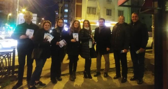 CHP İçerenköy Mahalle Temsilciliği Sevgililer Gününü Unutmadı