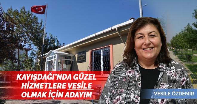 Kayışdağı Mahallesi'nin Kadın Muhtar Adayı Vesile Özdemir'den Önemli Açıklamalar
