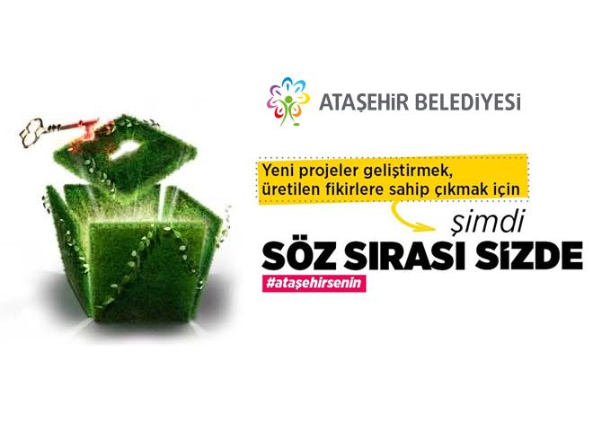 Ataşehir'in 5 yıllık geleceğini halk belirleyecek!
