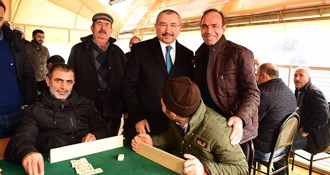 İsmail Erdem, Ataşehir'de Yeni yılın ilk ziyareti ve saha çalışmasını Kayışdağı Mahallesine yaptı