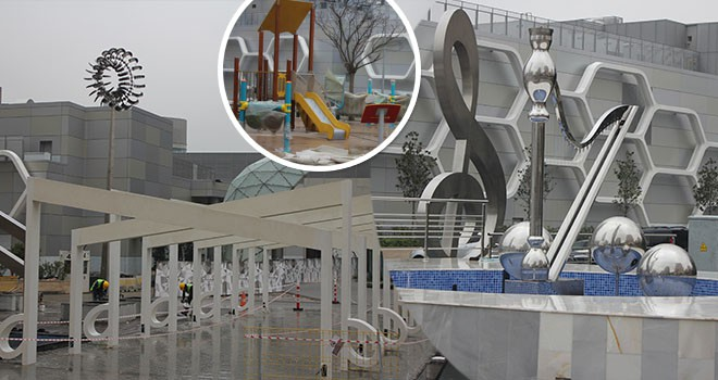Atatürk Mahallesi'nin Yeni Parkı Yeni Yıldan Sonra Hizmete Açılıyor