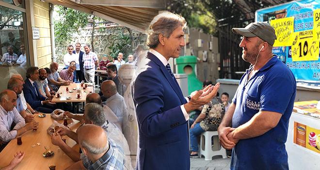 Yerel Yönetimler Başkan Yardımcısı Mustafa Demir Ataşehir'in Nabzını Yokladı