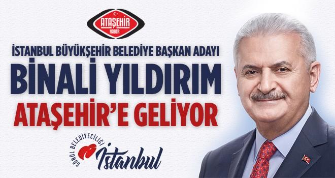 İstanbul Büyükşehir Belediye Başkan Adayı Binali Yıldırım Ataşehirlilerle Buluşuyor