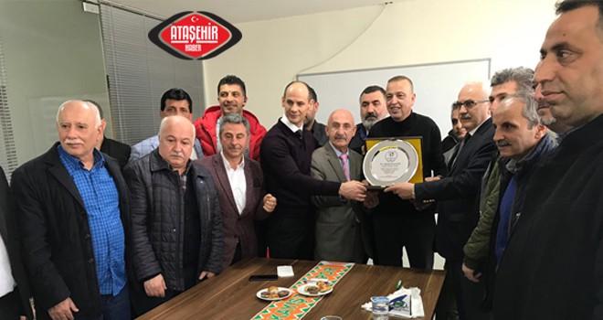 Amatör Spor Kulüpleri Yöneticilerinden İlgezdi'ye ziyaret