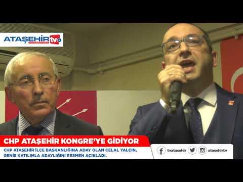 Celal Yalçın CHP'den Ataşehir İlçe Başkan adaylığını açıkladı